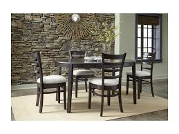 dining room table with butterfly leaf john thomas select dining 5 piece table and chair set with