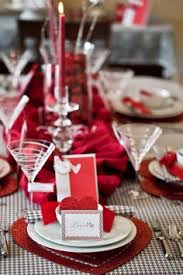 Images Of Valentines Day Table Decor by Valentine U0027s Day Table Decor For Two In Black And Red Valentine U0027s