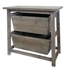 table d appoint cuisine meuble de rangement table de nuit à 2 tiroirs range fruits légumes