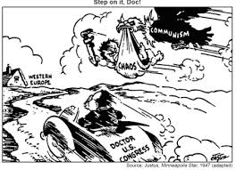 Iron Curtain Political Cartoons History Tunes The Cold War