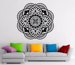 aliexpress com buy wall sticker mandala indian pattern vinyl