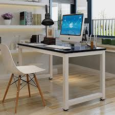 Computer Desk For Laptop Tribesigns Modern Simple Style Computer Desk Pc Laptop Study Table