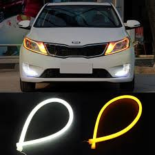 Led Strip Lights Automotive by 60cm Changeable Colors Drl Led Bar Tube Strip Flexible Led Daytime