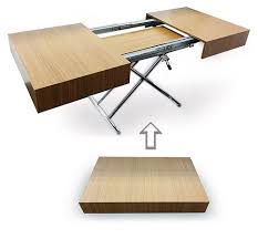 from coffee table to dining table nyc space saving furniture by expand furniture