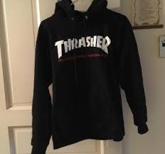 thrasher brooklyn 77 hoodie size m mercari buy u0026 sell things