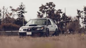 subaru rsti wallpaper subaru impreza wrx sti tuning car machine subaru tuning black hd