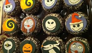 nightmare before christmas cupcake toppers kairi s nightmare before christmas book cake cakecentral