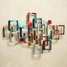Art For Living Room Wall Ideas Retro Modo Metal Wall Sculpture Multi Jewel