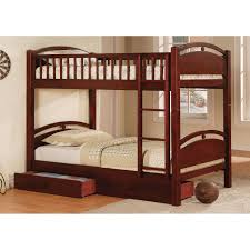 Twin Beds With Drawers Atlantic Furniture Columbia Twin Over Twin Bunk Bed Hayneedle