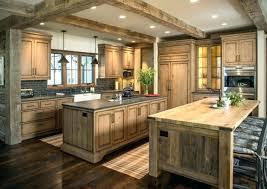 cuisine chaleureuse contemporaine cuisine en bois massif meuble de cuisine en bois pas cher dcoration