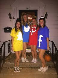 Halloween T Shirts For Girls Sorority Halloween Costume Social Media Apps U2026 Pinteres U2026