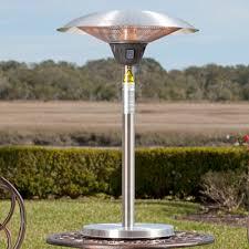 Fire Sense Patio Heater Reviews Fire Sense Cimarron Halogen 1500 Watt Electric Tabletop Patio