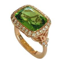 fashion gem rings images 166 best peridot images gemstones peridot and jpg