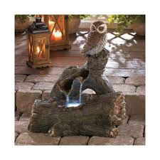 Lighted Water Fountains Outdoor by Garden Fountains Also Make Great Indoor Fountains