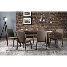 julian bowen kensington extending dining set with 6 dining chairs