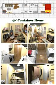Container Homes Floor Plan 281 Best Shipping Container Home Design Images On Pinterest