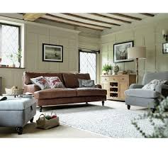 image of house buy heart of house livingston 3 seater leather sofa tan at argos