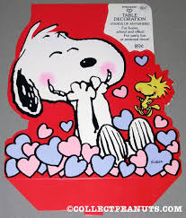 Snoopy Christmas Office Decorations by Peanuts Valentine U0027s Day Press Out Designs Collectpeanuts Com