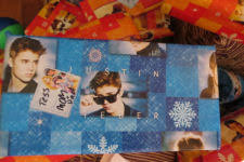justin bieber wrapping paper christmas 2013