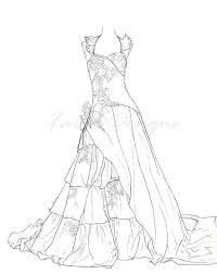 barbie night dress coloring 01 u2026 pinteres u2026