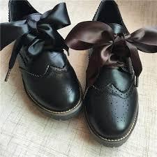 ribbon shoelaces 180cm 71 flat silk ribbon shoelaces princess shoe laces colorful