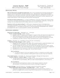 project manager resume template project management resume it project manager resume template best