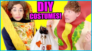 d i y easy free halloween costumes youtube