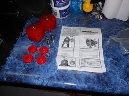 how to guide install energy suspension motor mount bushings