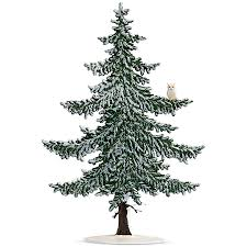 pewter winter pine tree with snow owl pewter gifts