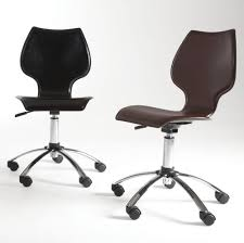 brown leather armless desk chair brown leather armless office chairs office chairs
