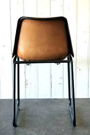 Leather Dining Chair Interior Industrial Leather Dining Chair 18 Style Chairs