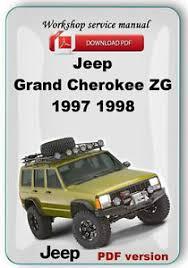 1998 jeep grand manual jeep grand zg 1997 1998 factory service repair manual ebay