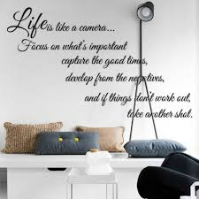 online get cheap wall sticker quotes aliexpress com alibaba group details about life is like a cameia life quote wall sticker vinyl decal home room decor
