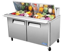 table top freezer glass door turbo air inc