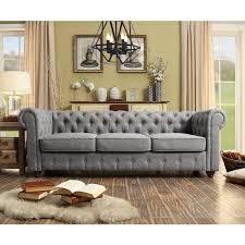 ms chesterfield sofa review garcia chesterfield sofa reviews allmodern