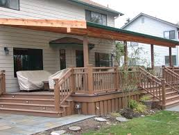 building a back porch deck home design ideas