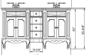 What Is The Standard Height by Amazing What Is The Standard Height Of A Bathroom Vanity In
