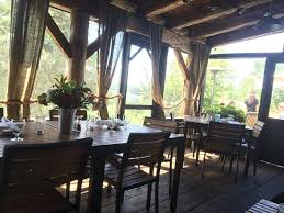 Restaurant Patio Umbrellas The Screened In Patio Is Option Between Indoors And The