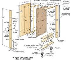 tool cabinet plans free pdf woodworking