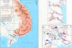 World Map Vietnam by Map Of The Vietnam War 1975