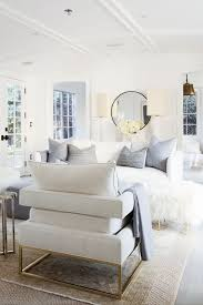 A M Home Decor Modern White Home Decor White Living Room Setting In A Modern Home