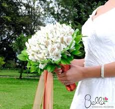 Lily Flowers Alstroemeria Bouquet Wedding White Lily Flowers Are Featured In