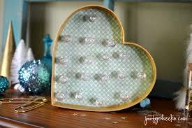 Hobby Lobby Light Box Diy Heart Marquee Light Poofy Cheeks