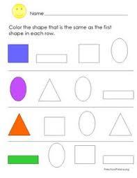 shapes u0026 colors printable worksheet printable worksheets