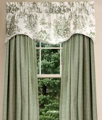 Toile Window Valances Toile Valances Lenoxdale Toile Curtains And Toile Bedding