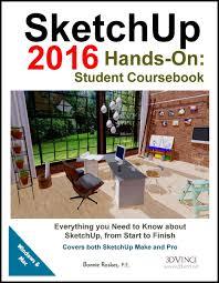 home design books 2016 sketchup coursebook 3dvinci
