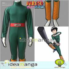 Naruto Halloween Costumes Adults Manga Amime Individual Naruto Shippuden Rock Lee 1st Men U0027s Cosplay