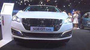 peugeot 508 interior 2017 peugeot 508 gt line 1 6 thp 165 s u0026s bvm6 2017 exterior and