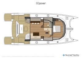 Catamaran Floor Plans Catamarans For Sale 60 Sunreef Power New Build 60 Sunreef Power
