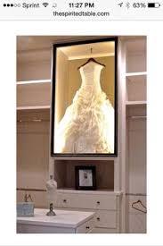 Wedding Dress Storage Boxes Dress Display Cabinet Google Search Home Improvement Ideas